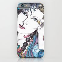 iPhone & iPod Case featuring LOLA  by Rachel E Murray