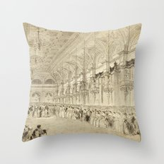 Grand Ball Hotel De Ville Paris Throw Pillow
