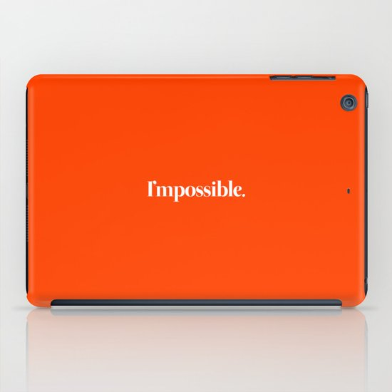 I'mpossible iPad Case