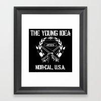 The Young Idea - NorCal … Framed Art Print