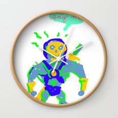 Masters of the universe of love 2 Wall Clock