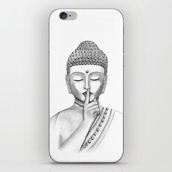 Shh... Do not disturb - Buddha iPhone & iPod Skin