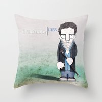 Dr. House Throw Pillow