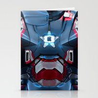 Iron/Patriot Body Armor. Stationery Cards