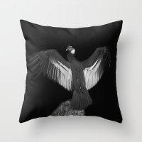 Adrean Condor Throw Pillow