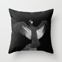 Adrean Condor Throw Pillow