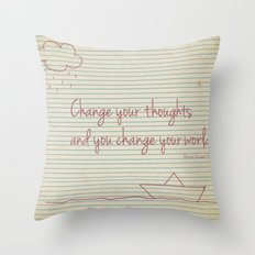 It's How You See It Throw Pillow