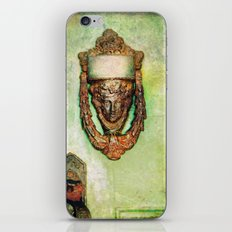 Brass Knocker iPhone & iPod Skin
