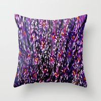 Fantasy Colors Vintage  Throw Pillow