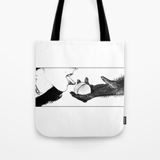 asc 555 - L'apprivoisement de Madelene (The woman and the ape) Tote Bag