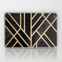 Art Deco Black Laptop & iPad Skin