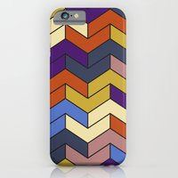 Geometric Chevrons iPhone 6 Slim Case