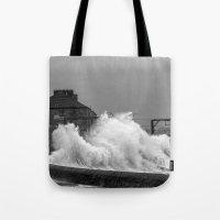 Stevenston Storms Tote Bag