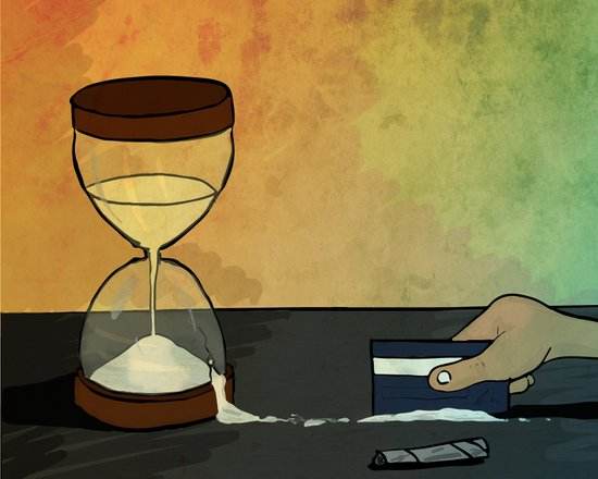 """time is the best """"drug"""" Art Print"""