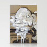 Melted Stationery Cards