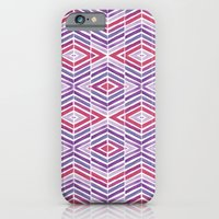Gem Tone Watercolor Diam… iPhone 6 Slim Case