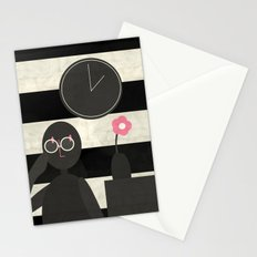 Pince-nez Stationery Cards