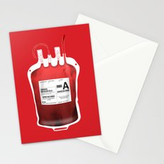 My Blood Type is A, for Awesome! *Classic* Stationery Cards