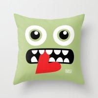 EYE EAT Throw Pillow