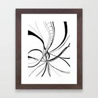 Benthic Realm Framed Art Print