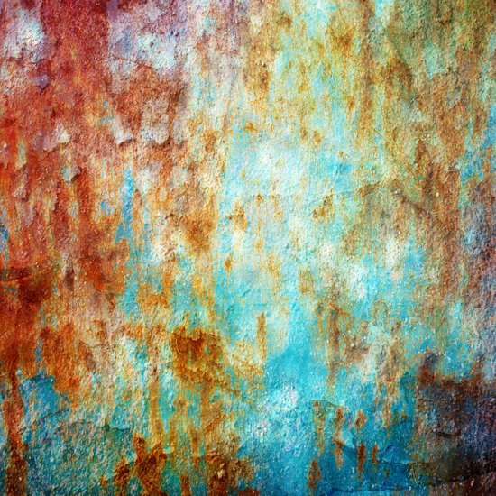 Grunge 'n' Rust Canvas Print