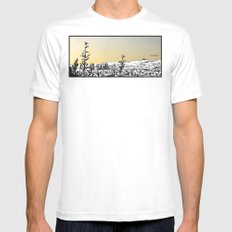 Locals Only - Los Feliz White Mens Fitted Tee SMALL