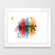 Ninja Turtles Framed Art Print