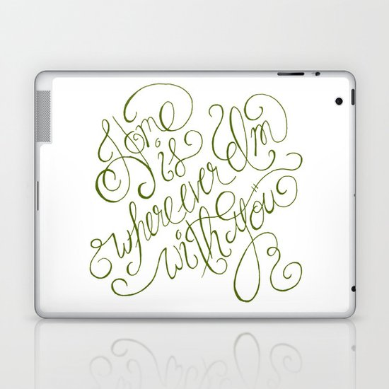 Kitchen Window Uptown Coffee Festival 2016: Home Is Wherever I'm With You. Laptop & IPad Skin By Meant