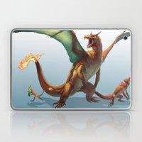 Pokemon-Charizard Laptop & iPad Skin