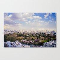 Tokyo love Canvas Print