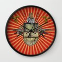 The Revolution Will Not Be Televised! Wall Clock