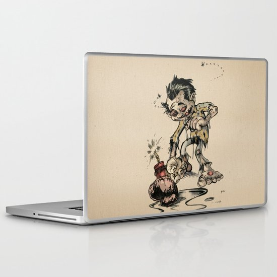 How to Trick a Zombie Laptop & iPad Skin