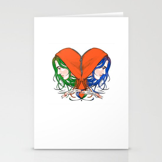 Clementine's Heart Stationery Card