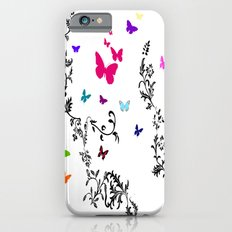 Butterfly Garden iPhone 6s Slim Case