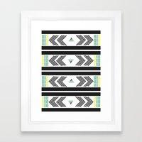 gebürtiger tanz Framed Art Print