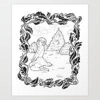 Pin Up 001 Art Print