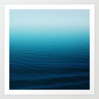 Deep Blue Sea Art Print