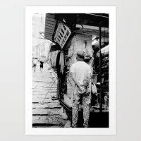 Hong Kong #47 Art Print