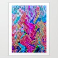 Tapestry Wave Art Print