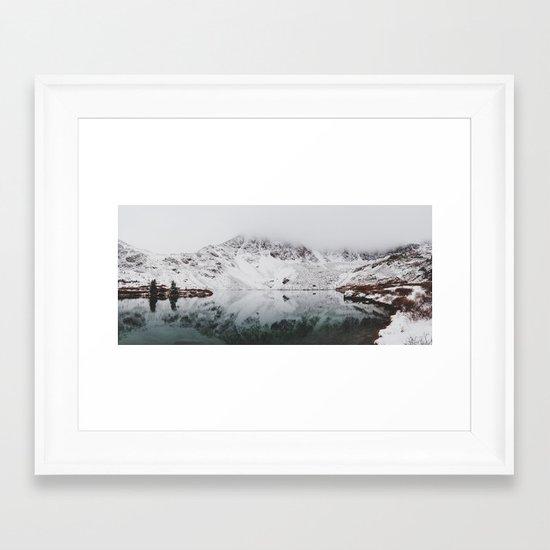 Anderson Lake Framed Art Print