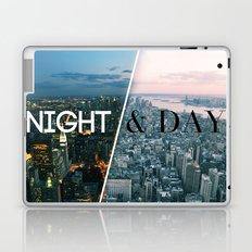 NIGHT & DAY Laptop & iPad Skin