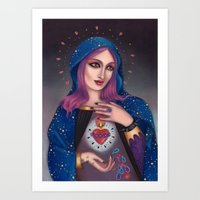 Blessed Mary Art Print