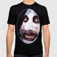 Captain Spaulding Mens Fitted Tee Black SMALL