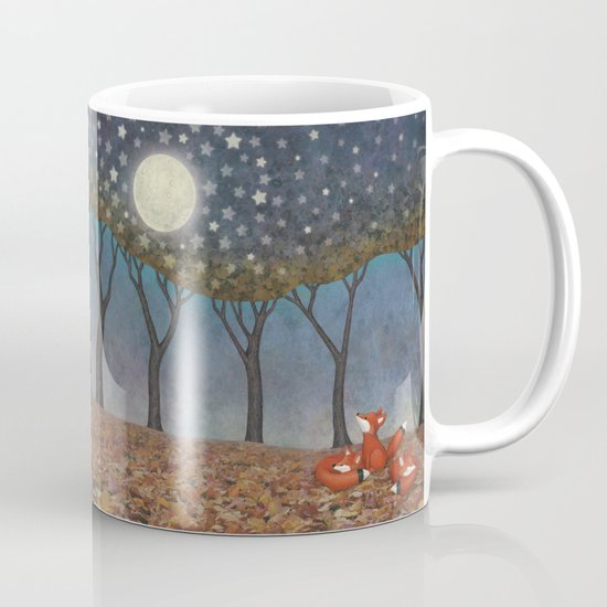 sleepy foxes Mug