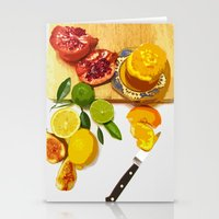 Still Life with Pomegranate Stationery Cards