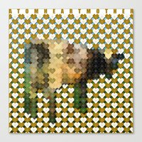 Atom Heart Mother Canvas Print