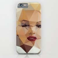 portrait iPhone & iPod Cases featuring Monroe. by David