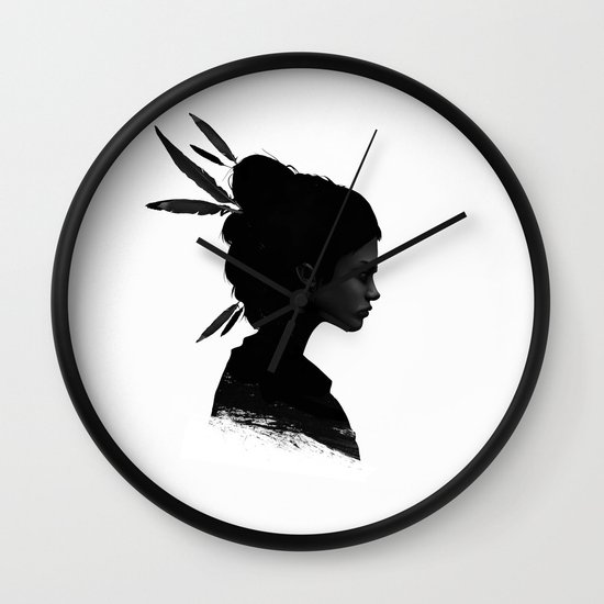 Never Never Wall Clock
