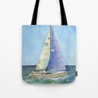 Woman Skipper Race 2015 Tote Bag
