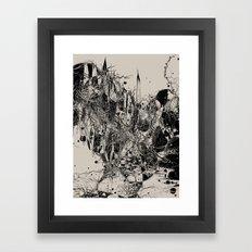 Coexistence Framed Art Print